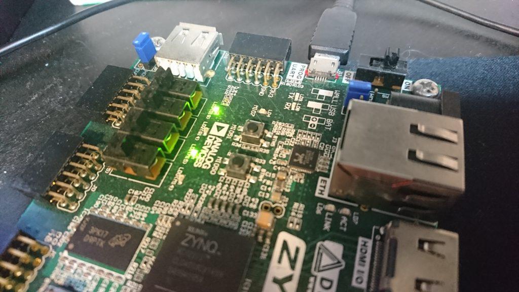 【FPGA/HDL】ZYBOで遊ぼう日記 – FPGAとARMを融合させたZynqで遊ぶ。HLSやMicroblazeも