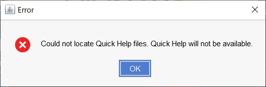 【FPGA/HDL】Windows 10 + Vivado 2020.1で「Could nt locate Help files. Quick Help will not be available」とエラーが出る時の対処法