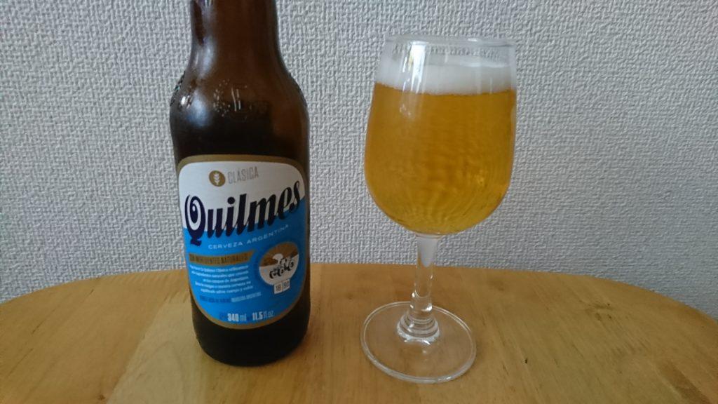 【お酒の感想】キルメスビール(Quilmes Beer) – 肉のハナマサで売ってる酸味が強いアルゼンチンビール