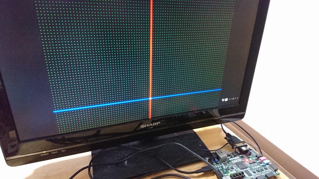 【FPGA】Moving BallのサンプルをZybo向けに変更して動かす(FPGA + Verilogでゲーム機をつくろう日記4日目)