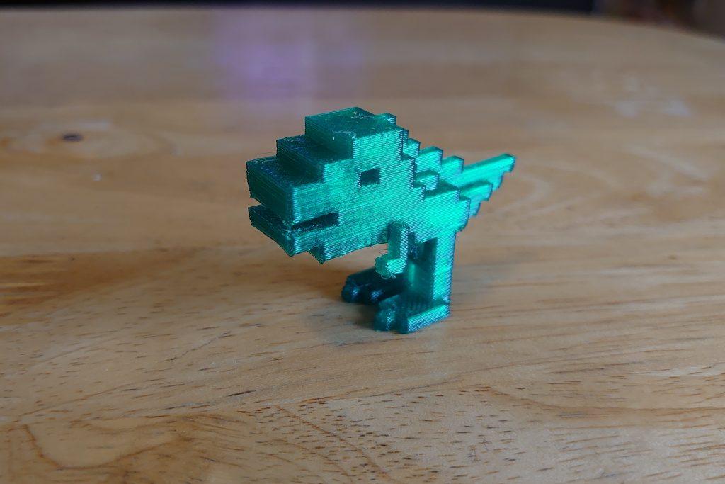 【3Dプリンター】MagicaVoxelでつくったモデルをダヴィンチmini w+で印刷する(3Dプリンターで遊ぼう日記4日目)