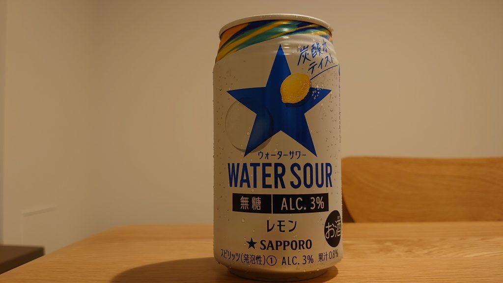 【お酒の感想】度数3%のハードセルツァー(アルコール入り炭酸水)、「サッポロ WATER SOUR」を飲んでみた