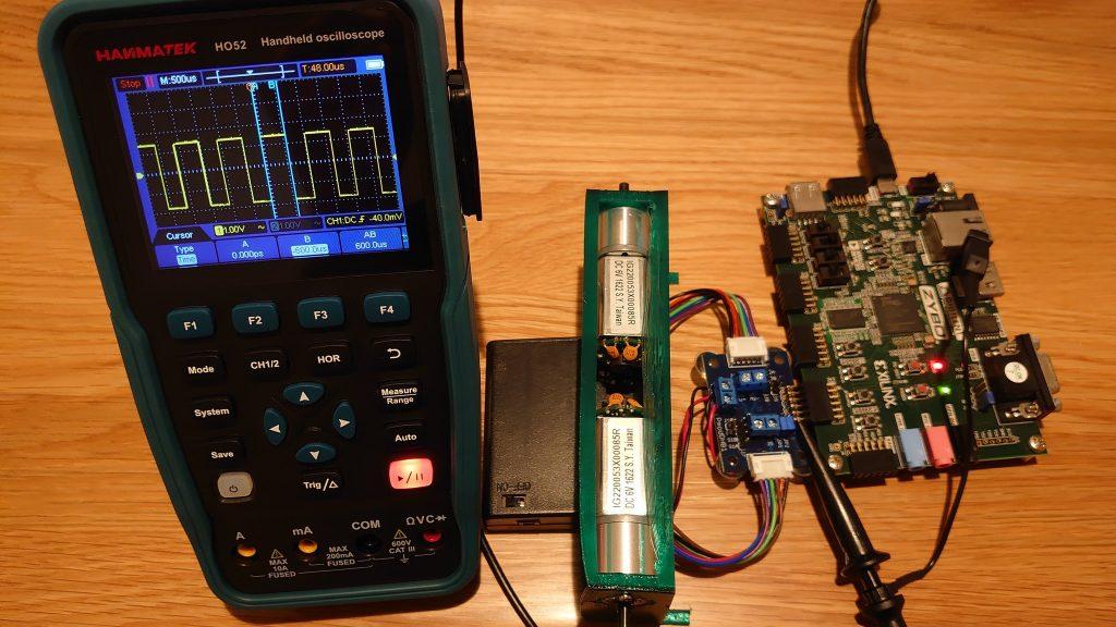 【FPGA】ZyboでDCモータを回そう日記