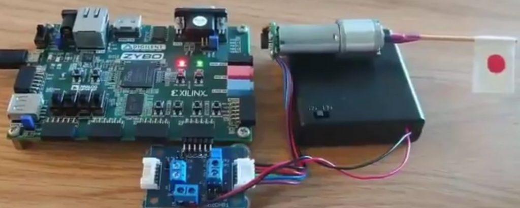 【FPGA】ZyboにモータドライバとDCモータをつないでスイッチで動かしてみる(FPGAとDCモータで遊ぼう日記2日目)